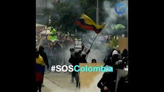 Colombia: Brutal represión policial y militar deja decenas de muertos y casi mil heridos