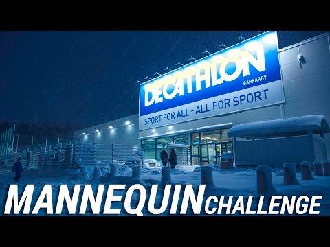 Decathlon Barkarby Mannequin challenge