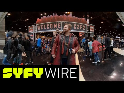 VR180 | 180° Cosplay Dance-Off | C2E2 2018 | SYFY WIRE