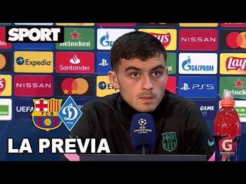 RUEDA DE PRENSA de PEDRI🎙PREVIA FC BARCELONA – DINAMO DE KIEV: «MESSI ME HA AYUDADO MUCHO»