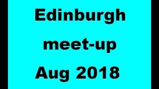 Edinburgh channel meet-up for technical chat.