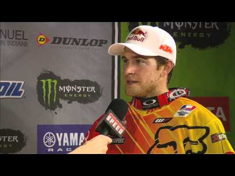 Supercross LIVE! 2012 - Ryan Dungey takes 2nd in St. Louis