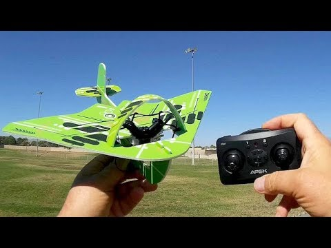 Apex M23K Airplane Drone Flight Test Review