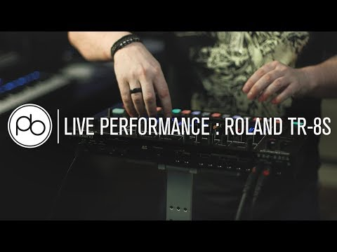 Roland TR-8S: Live Performance & First Look with Saytek