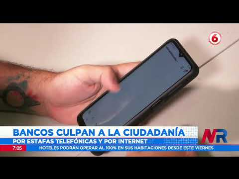 Bancos responsabilizan a la ciudadanía por estafas telefónicas