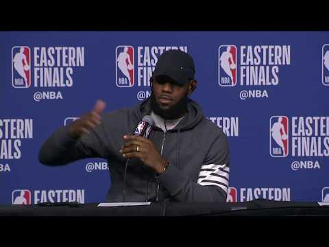 LeBron James Postgame Interview   Cavaliers vs Celtics Game 5