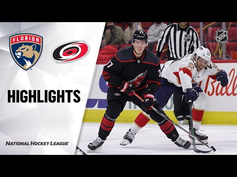 Panthers @ Hurricanes 4/8/21 | NHL Highlights