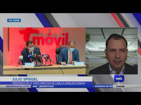 Entrevista a Julio Spiegel, Presidente de la Junta Directiva de Cable & Wireless Panamá