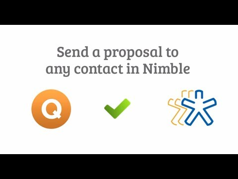 Quote Roller and Nimble Integration Video