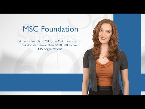 MSC Foundation Gives $41,000 to Local Charities