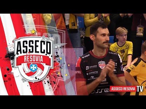 Kulisy meczu PGE Skra Bełchatów - Asseco Resovia Rzeszów