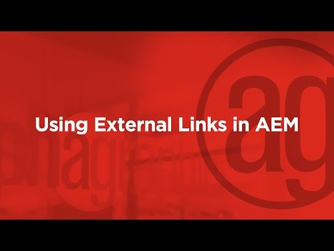 Website How To: Use External Links in AEM