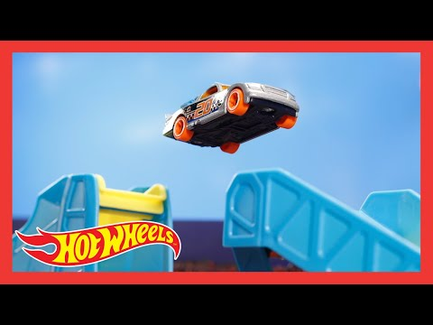 "HW TRACK STARS in ""HOT WHEELS TRICK TRACK RACE: TRACK STARS ADDITION"" 