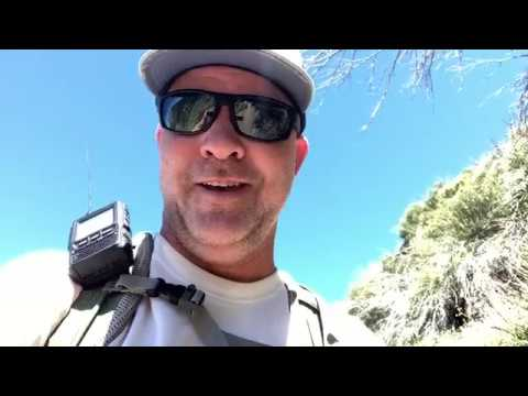 Mt  Lawlor W6:CT 089 Ham Radio SOTA Hike & Snakes