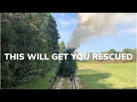 Signal For Rescue Using A Smoke Generator