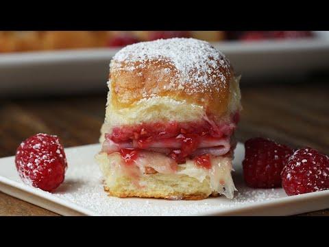 Sweet And Savory Monte Cristo Sliders ?Tasty