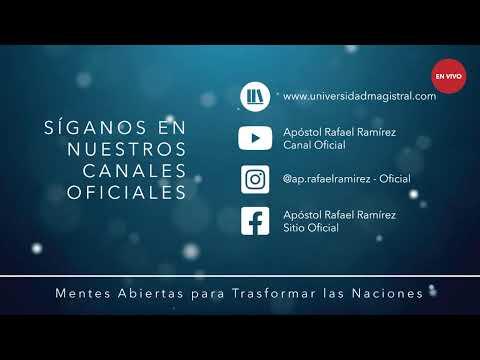 GUERRA ESPIRITUAL ESTRATÉGICA PART. 5 - APÓSTOL RAFAEL RAMÍREZ CANAL OFICIAL