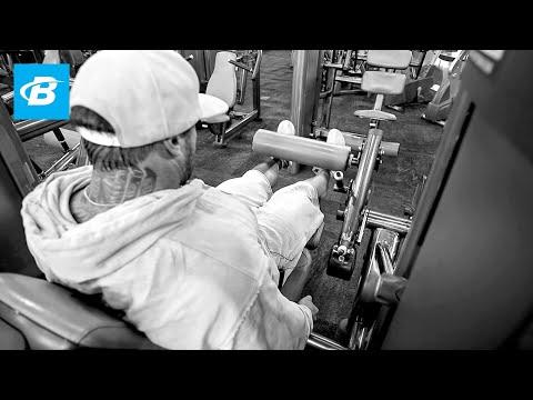 Quads, Lower Abs & Calves Workout | Day 1 | Kris Gethin's 8-Week Hardcore Training Program