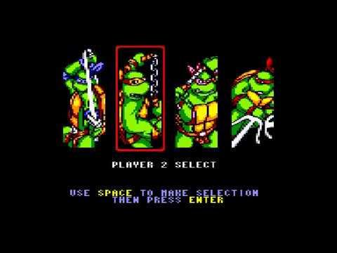Teenage Mutant Hero Turtles 2 - Coin Op - Amstrad CPC Longplay