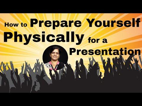 How to Prepare yourself physically for a presentation | Presentation skills by Jyoti Kulshreshth