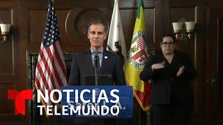 Fricción entre autoridades de California y la Casa Blanca por reapertura del estado | Telemundo