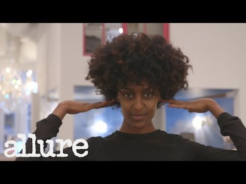 Model Lula Gets a Curly Afro Pixie Cut | Hair Transformation | Allure