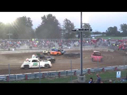 USA Figure Eight Championship 2018 (RWD cars) Heat 2(Munger,Michigan)