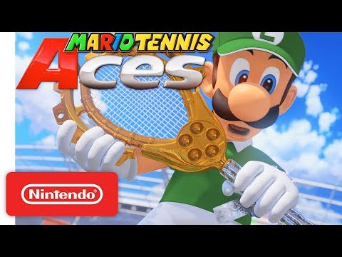 Mario Tennis Aces - Adventure Mode Trailer - Nintendo Switch