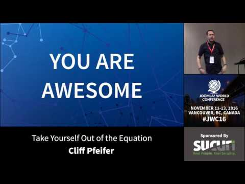 JCW 2016 - Take Yourself Out Of The Equation - Cliff Pfeifer
