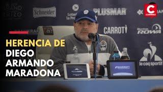 La herencia de Maradona: ¿Sus hijos recibirán algunos de sus bienes