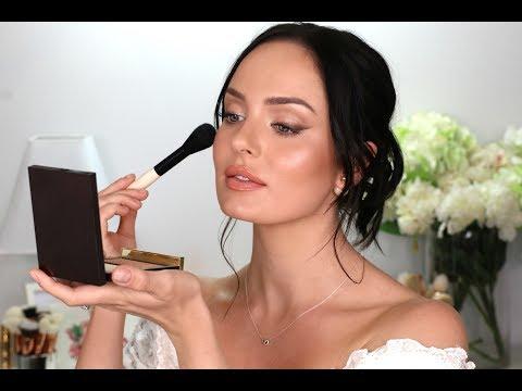 My Wedding Makeup! A Bridal Tutorial \ Chloe Morello