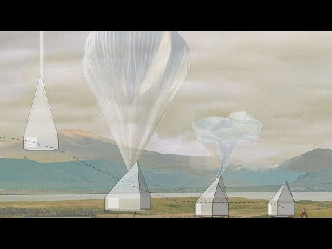 Studio McLeod and Ekkist create balloon-powered flying houses concept | Architecture | Dezeen