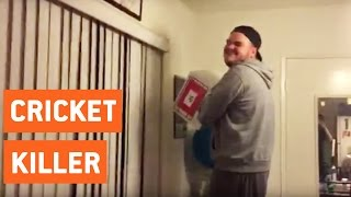 Man Is Deathly Afraid to Kill Cricket | Worst Exterminator Ever