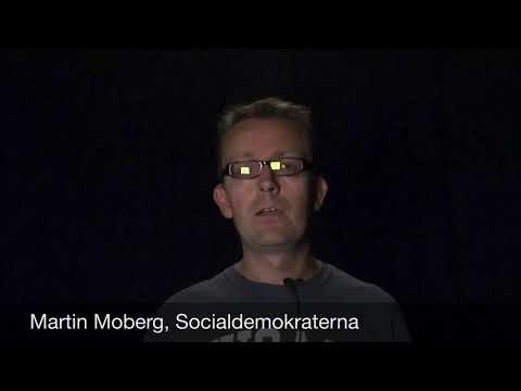 Martin Moberg, Socialdemokraterna
