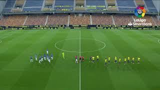Calentamiento Cádiz CF vs Real Oviedo
