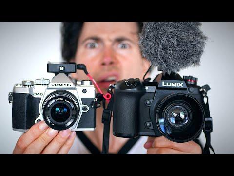 Panasonic G9 vs Olympus OM-D EM5 III Review | Best Vlogging Camera 2020