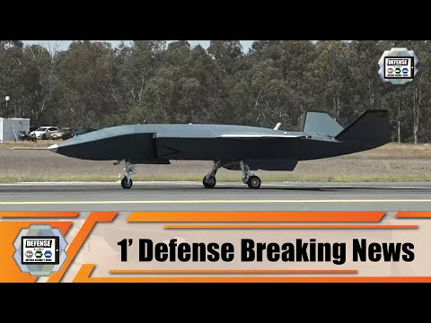 Boeing Australian Loyal Wingman Unmanned Aircraft completes first taxi Australia 1' defense news