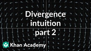 Divergence intuition, part 2