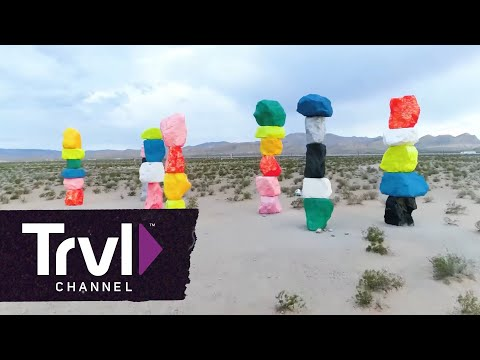 Take a Selfie at Seven Magic Mountains - Travel Channel