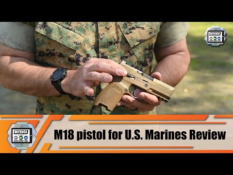 Review Sig Sauer M17 for US Army and M18 for U.S. Marines 9mm pistol modular handgun