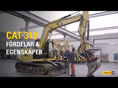 CAT 310 - Allt DU behöver veta om denna STARKA minigrävare!