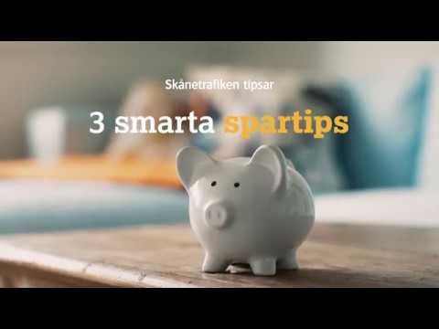 Skånetrafiken: 3 smarta spartips
