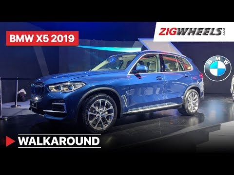 BMW X5 2019 India Walkaround : Interiors, Features, Prices Specs and More! | ZigWheels.com
