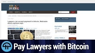 Can You Pay Lawyers in Bitcoin?