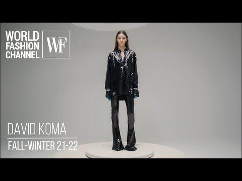 David Koma fall-winter 21-22 I Paris fashion week