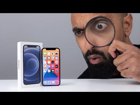 iPhone 12 Mini UNBOXING + Size Comparison