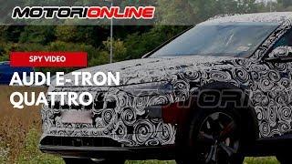 Audi e tron quattro – Video spia (marzo 2018)