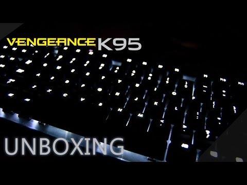 Unboxing  Corsair Vengeance K95