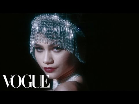 Zendaya Does 100 Years of Beauty | Vogue