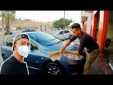 ขนาดคนล้างรถยังหล่อ!-อู่ล้างรถ
